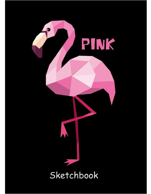 проф пресс  Скетчбук Фламинго А5