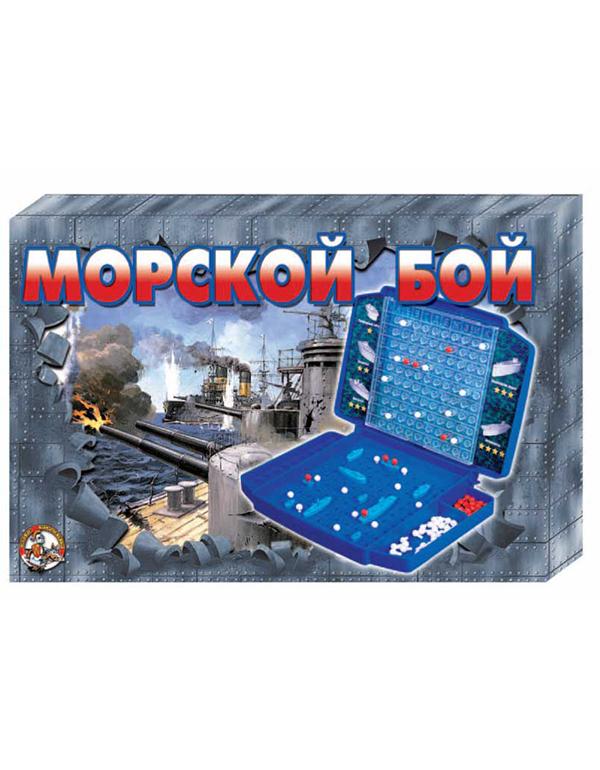 10 КОРОЛЕВСТВО  Настольная игра «Морской бой-2»